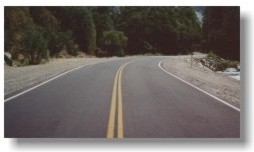 Route 140 after repairs